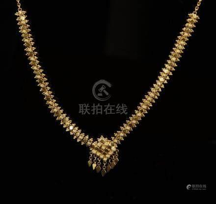 23 Carat Gold Necklace