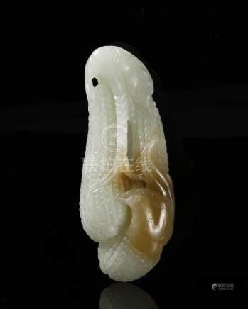 Chinese White Jade Loufah
