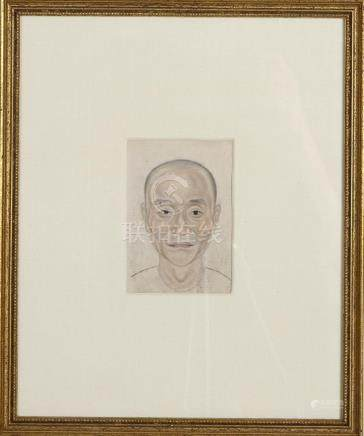 Chinese Six Framed Portrait Paintings