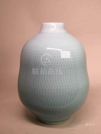 Japanese Modern Design Celadon Vase