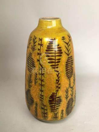 Japanese Kutani Porcelain Vase with Box