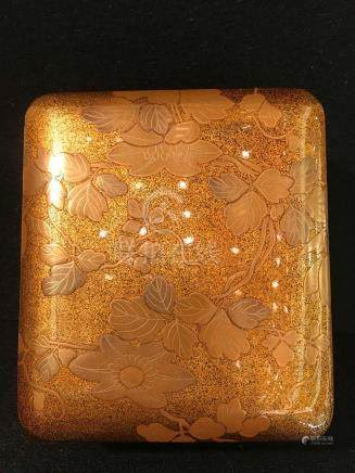 Japanese Lacquer Box - Floral