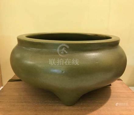 Chinese Teadust Porcelain Censer