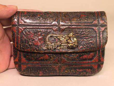 Japanese Leather Tobacco Pouch