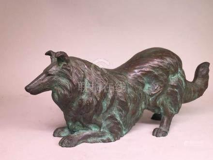 Japanese Bronze Dog