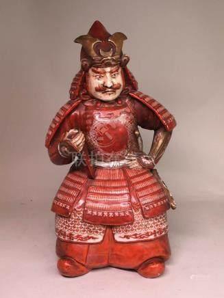 Japanese Kutani Porcelain Samurai