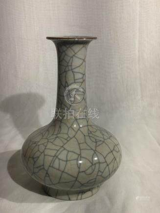 Chinese Crackle Glazed Vase