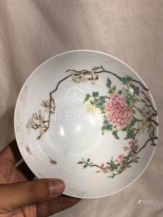 Chinese Porcelain Bowl - Peony