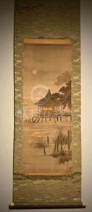 Japanese Scoll Painting - Nihonga School