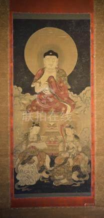 Japanese Buddist Scroll Painting