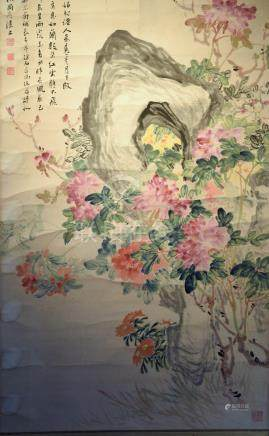 Chinese ScrollPainting of Floral
