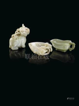 清 青玉麒麟擺件來源:法國私人珍藏,於1910-1911年間購自中國,現家族珍藏