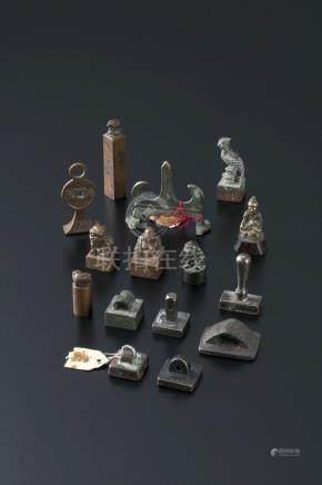 铜印等铜器 15件