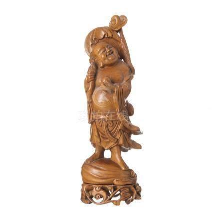 Wood Buddha carving, Republic