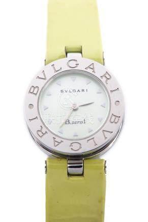 Bulgari, montre bracelet B.zero1 avec cadran en nacre