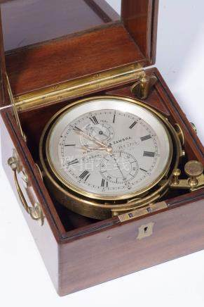 Negretti & Zambra London, chronomètre de marine de 8 jours