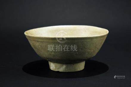 Celadon Submarine Bowl Ming Dynasty