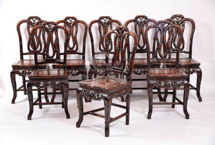 A Set of Eight Chairs
