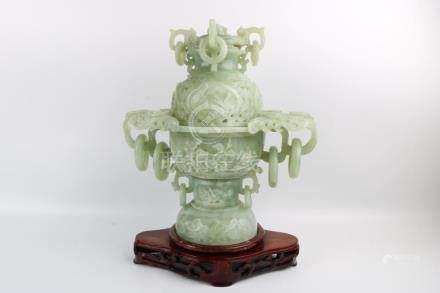Period of ChuangHui Jade Incenser Burner