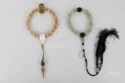 Two jade bracelet