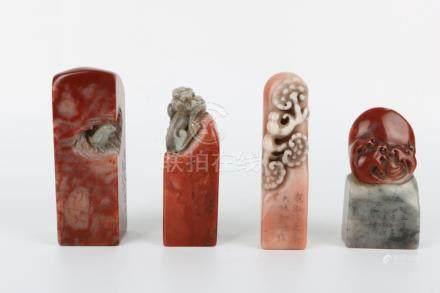 Four Shoushan Stone Seal
