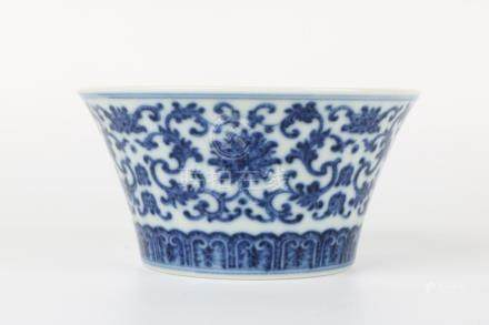 Qianlong Blue and white bowl