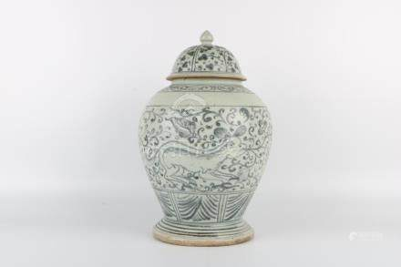 Ming Dynasty Blue and White Jar