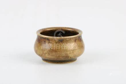 Qing Dynasty Bronze Incenser Burner