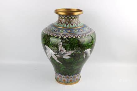 Period of ChuangHui Cloisonne Bottle