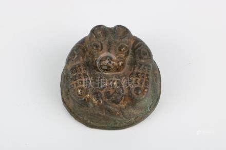 Ming Dynasty imitated Bronze Paperweight