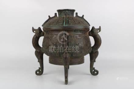 Bronze Jar
