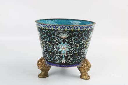 Qing Dynasty Cloisonne Incense Burner