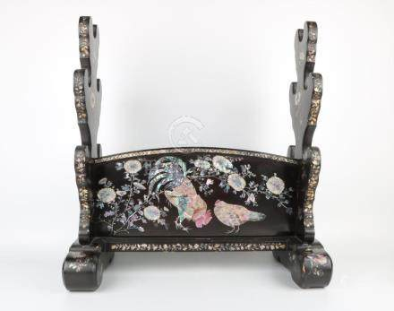 Qing dynasty weapon holder