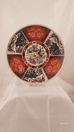 Porcelain plate China Arabian market 20th