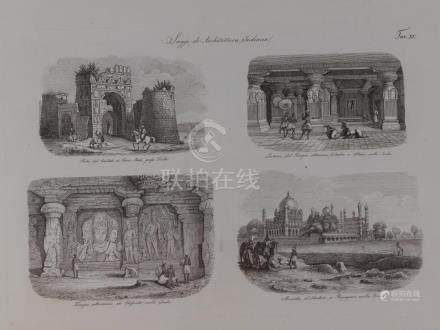 Animated view Firoz Shah Cotillah Delhi, Subterrenean Temple