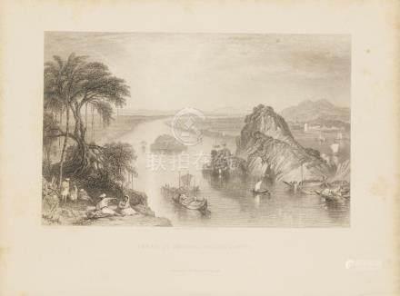 Animated View Golkonda Golconda, Ganges river Ganga India 18