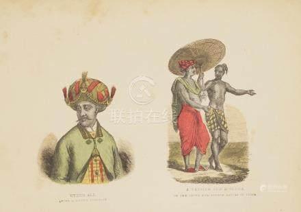 Portrait Hyder Ali, Vaysiah and Sudra India 1845 Goodall