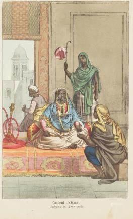 Print 1860 costumes India