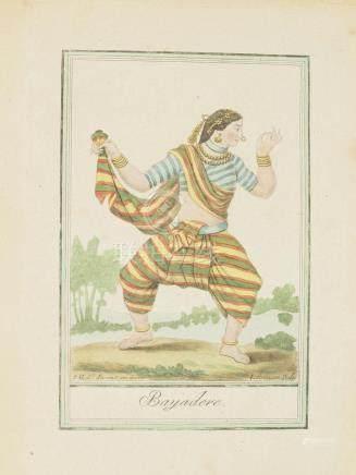 Print 1797 Indian woman India Grasset de Saint Sauveur