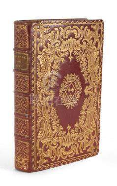 [ALMANACH]. Almanach royal, année M. DCC. LV. Paris, imprimerie de LeBreton, 17