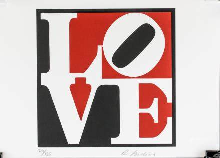 Robert Indiana American Pop Signed Litho 24/125