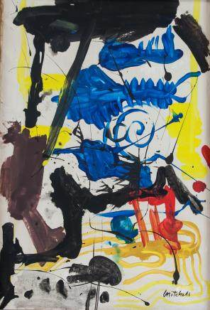 Joan Mitchell American Abstract Oil on Canvas