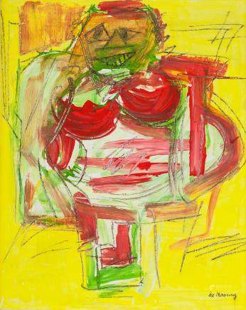 Willem de Kooning Dutch-American Abstract OOC