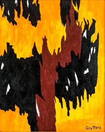 Clyfford Still American Abstract Oil on Canvas