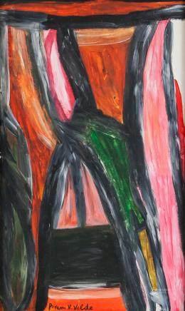 Bram van Velde Dutch Abstract Oil on Canvas