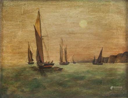 William Alfred Gibson British School Oil on Canvas