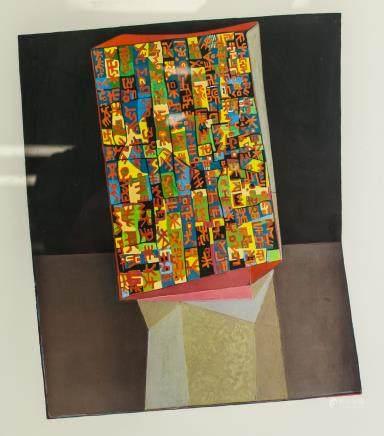 Hanfstaengl Druck Silkscreen on Paper Framed
