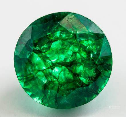 14.35 ct Natural Green Emerald w/ GGL Certificate