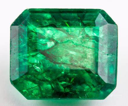 16.30 ct Natural Green Emerald w/ GGL Certificate