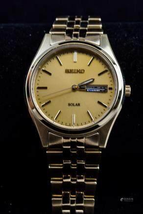 Seiko Solar Bracelet Watch RV $235